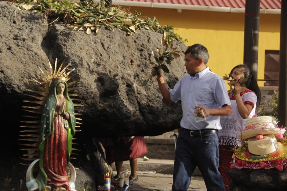 La Piedra de los Compadres es otro de los sitios concurridos. (Foto: Fredy Hernández/Soy502)