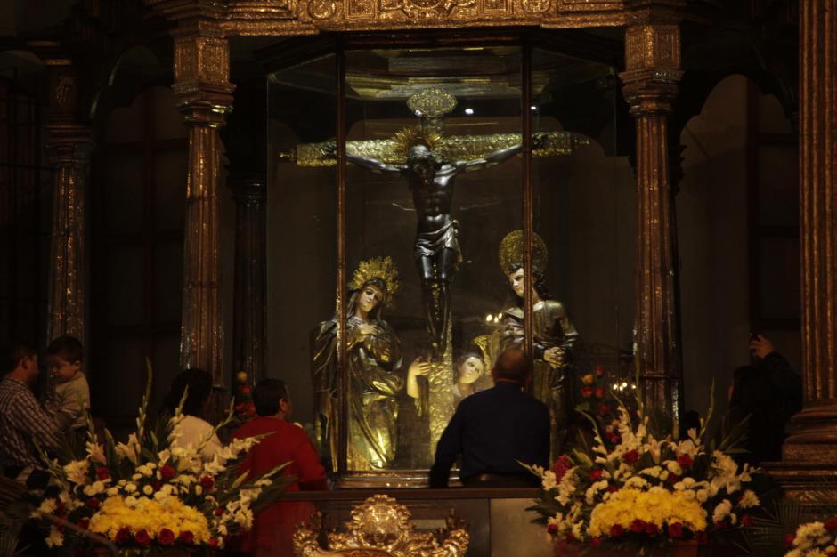 El Cristo Negro es venerado en Guatemala, El Salvador, Honduras y México. (Foto: Fredy Hernández/Soy502)