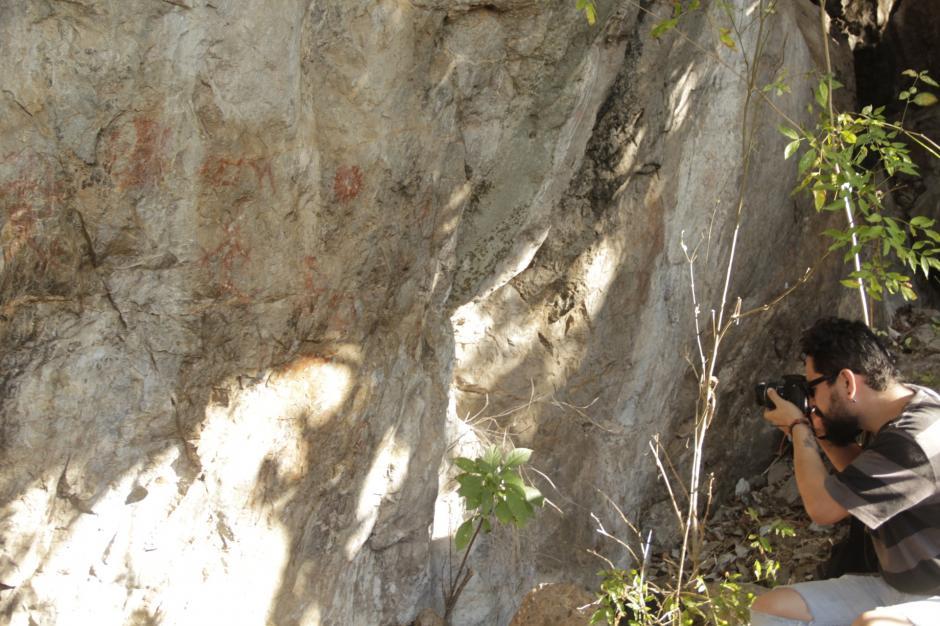 Se desconoce cómo llegaron a los peñascos de este lugar. (Foto: Fredy Hernández/Soy502)