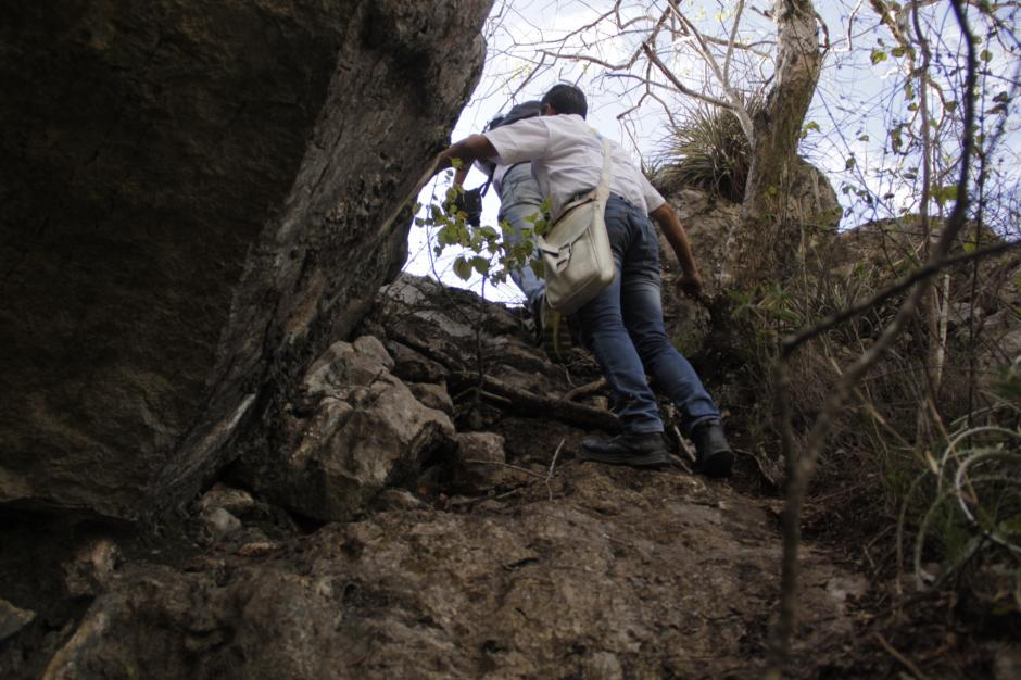 También se puede subir a los peñascos para divisar la vista del oriente del país. (Foto: Fredy Hernández/Soy502)