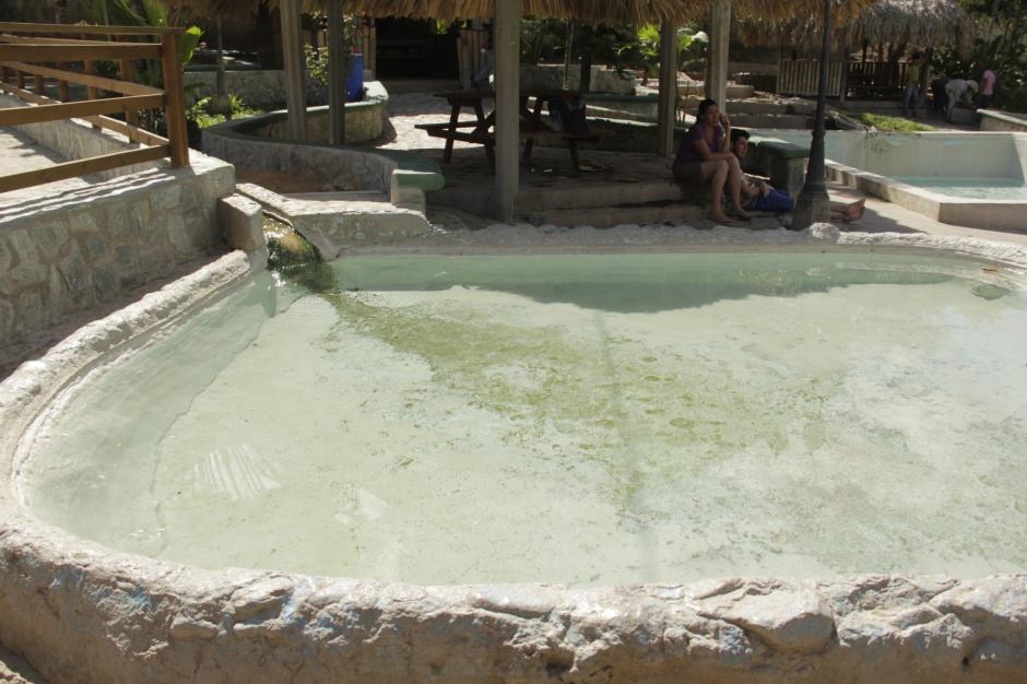 Las Aguas Termales de Camotán son el atractivo de las tardes y noches en la región. (Foto: Fredy Hernández/Soy502)