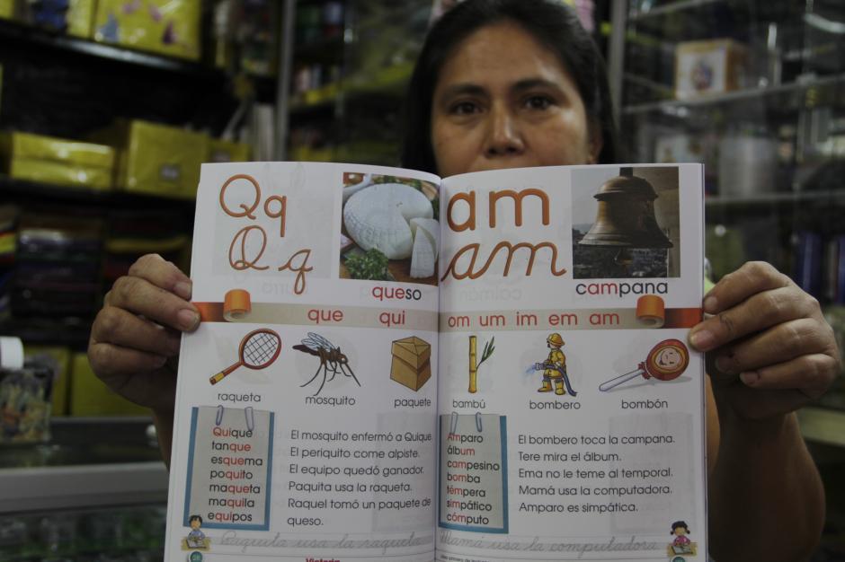 Estas tareas eran las que nos mostraban el camino para aprender a leer y escribir, además la manera de unir las letras para formar palabras. (Foto: Fredy Hernández/Soy502)
