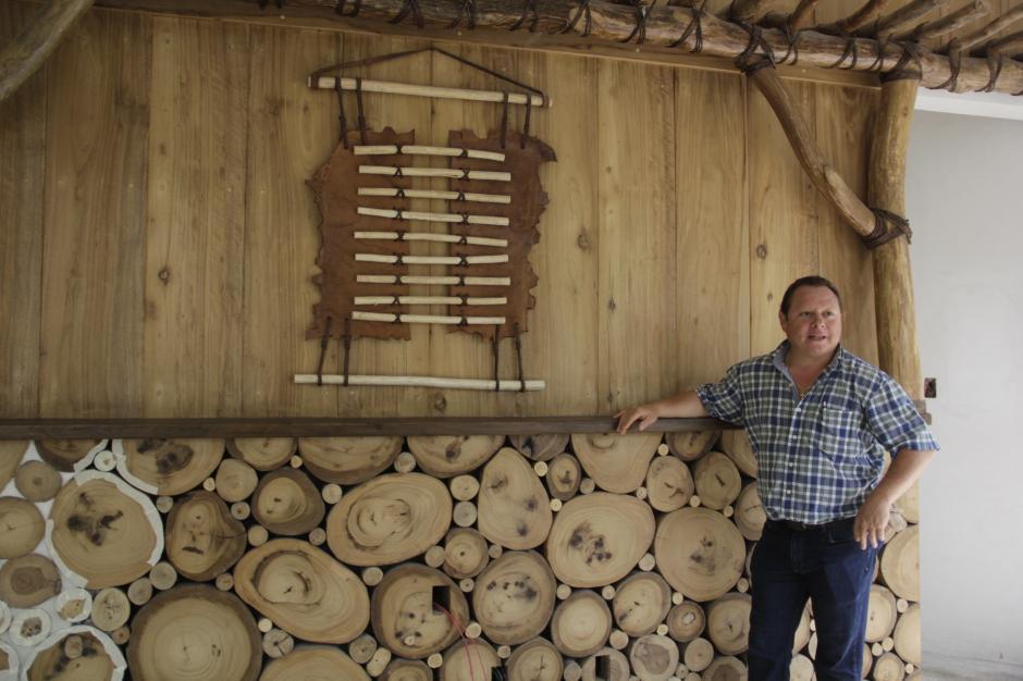 Las casas en el árbol y las cabañas tendrán decoraciones con estilo rústico. (Foto: Fredy Hernández/Soy502)