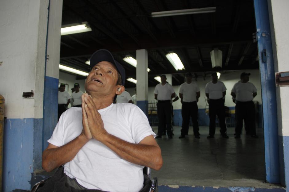Su agradecimiento a Dios es infinito y es un valor que se comparte en la academia de Emixtra. (Foto: Fredy Hernández/Soy502)