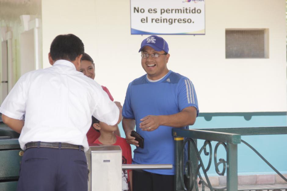La familia llegó a las 11 de la mañana al lugar sin imaginar lo que les pasaría. (Foto: Fredy Hernández/Soy502)