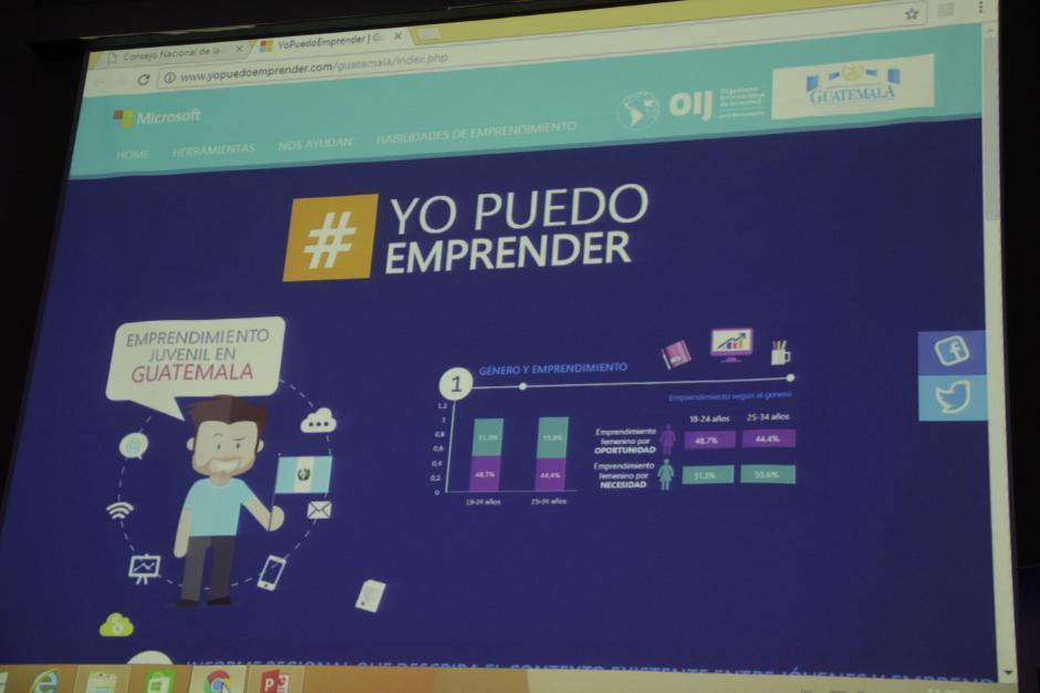 La plataforma espera brindar apoyo digital a los emprendedores. (Foto: Fredy Hernández/Soy502)
