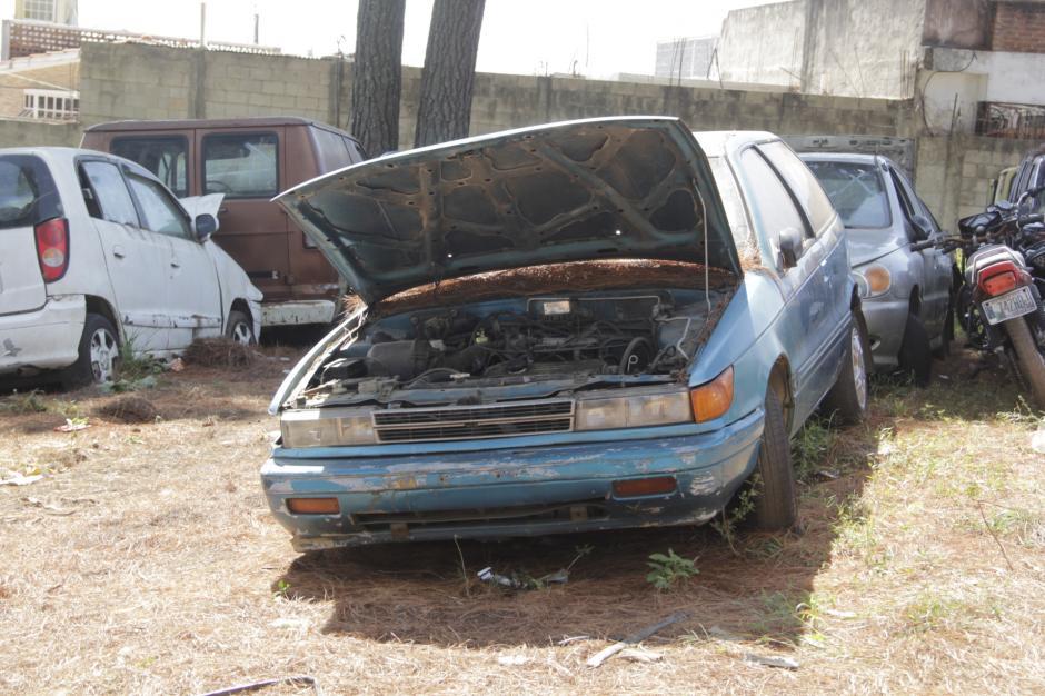 20 vehículos pueden ser puestos en marcha tras ser reparados. (Foto: Fredy Hernández/Soy502)