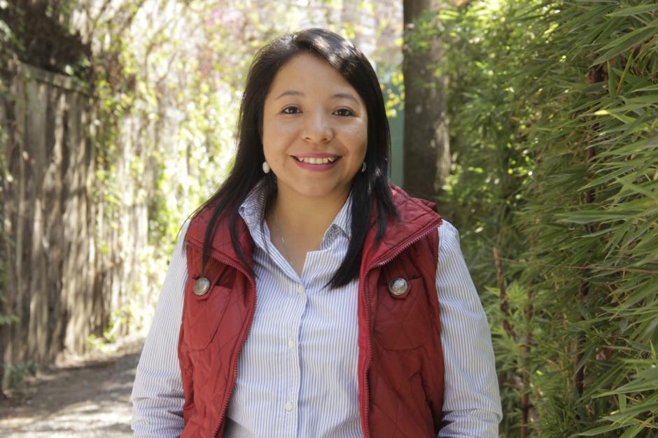 Evelyn Juárez apoya a nuevos talentos emprendedores de Guatemala. (Foto: Fredy Hernández/Soy502)
