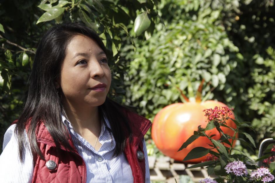 Evelyn es originaria de San Pedro Sacatepéquez, San Marcos. (Foto: Fredy Hernández/Soy502)