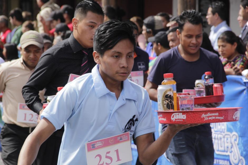 La concentración fue determinante para concluir la carrera. (Foto: Fredy Hernández/Soy502)