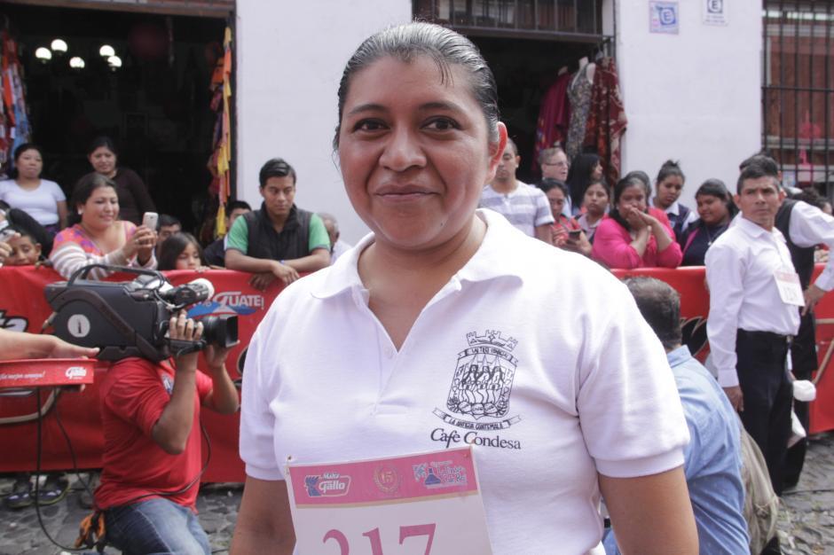 Sandra Hernández ganó la edición 2016. Lleva ocho años compitiendo. (Foto: Fredy Hernández/Soy502)