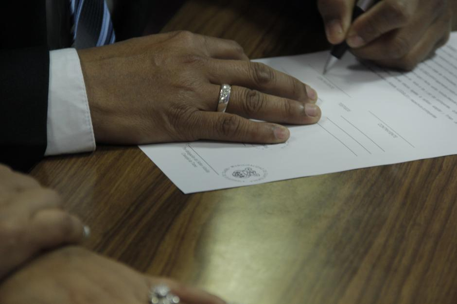 El viernes 10 de febrero se celebraron 22 uniones matrimoniales. (Foto: Fredy Hernández/Soy502)