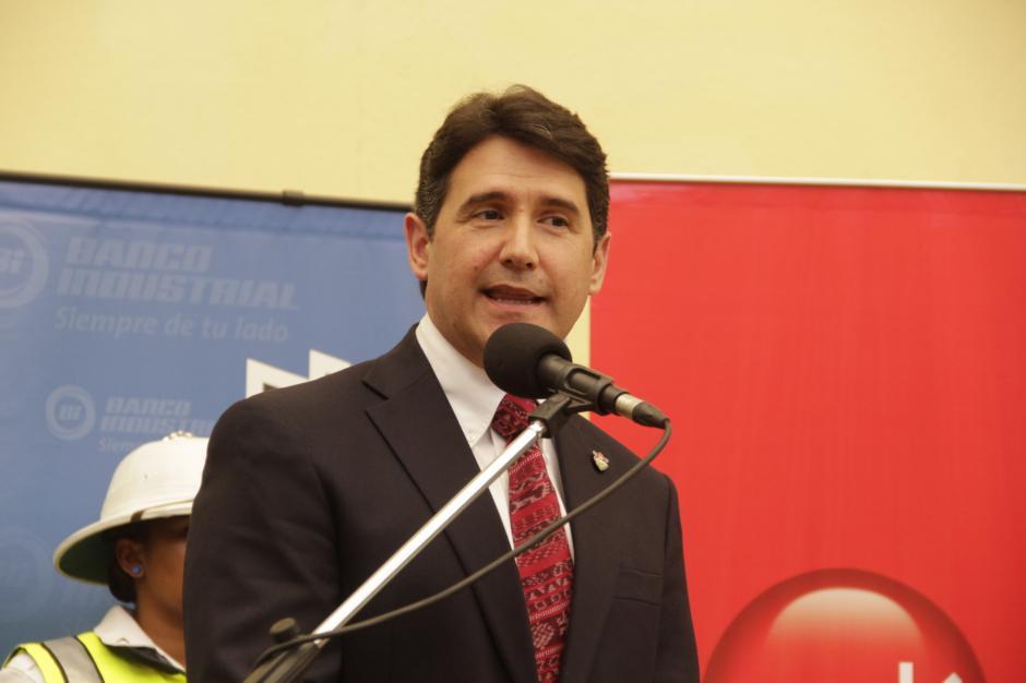 Ricardo Quiñónez, Concejal I, dijo que se garantiza la seguridad de los visitantes. (Foto: Fredy Hernández/Soy502)