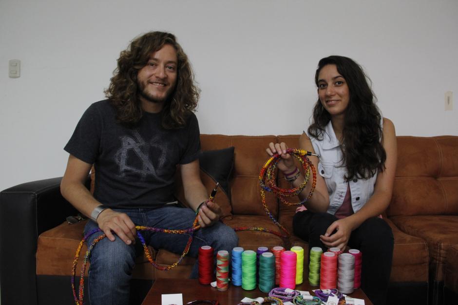 El último proyecto de estos emprendedores va dirigido a cables para instrumentos musicales.(Foto: Fredy Hernández/Soy502)