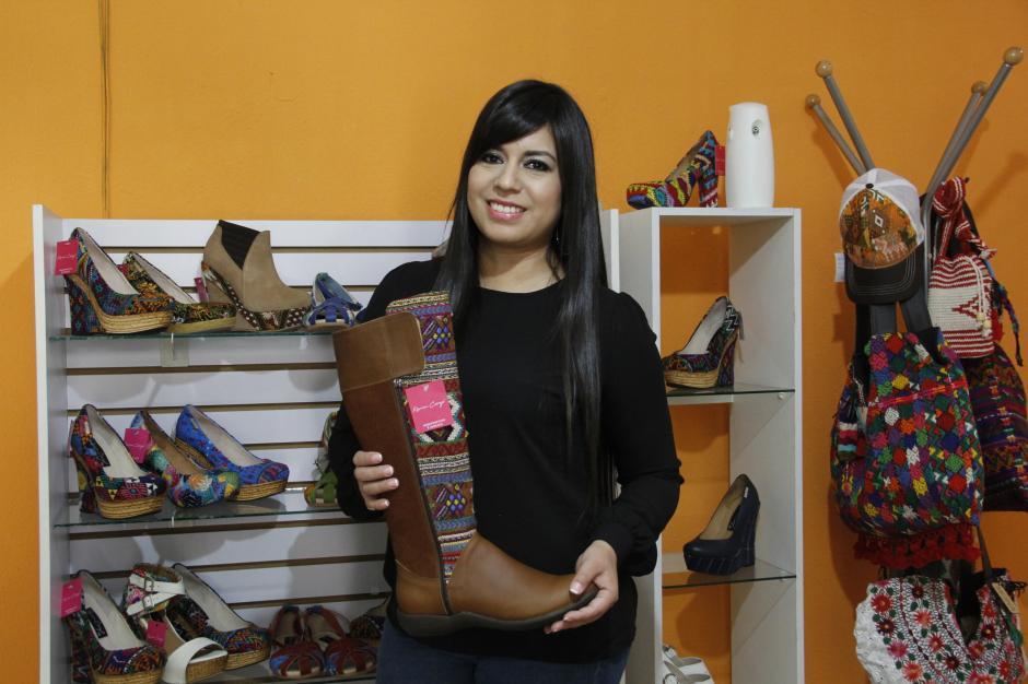 Karim Corzo es una emprendedora que ha logrado llevar sus estilos a diversos mercados tanto nacionales como internacionales. (Foto: Fredy Hernández/Soy502)