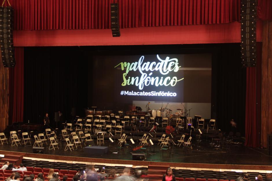 La Sinfónica se preparó con mucho tiempo de anticipación para sorprender a la concurrencia. (Foto: Fredy Hernández/Soy502)