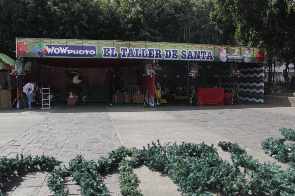 El taller de Santa es uno de los nuevos atractivos para este año. (Foto: Fredy Hernández/Soy502)