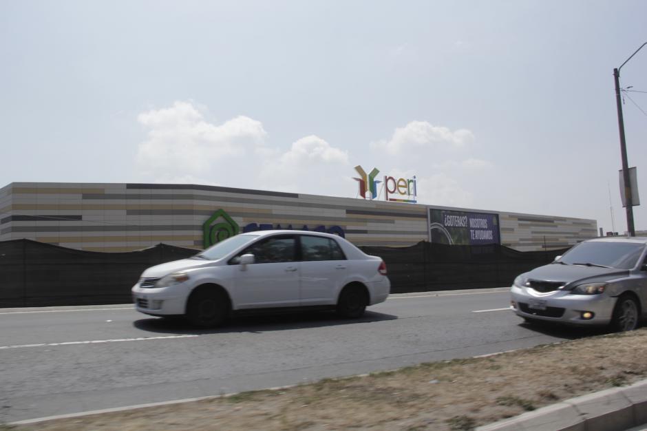 De momento, el tráfico no se ve afectado por estos trabajos. (Foto: Álvaro Hugo Rodas)