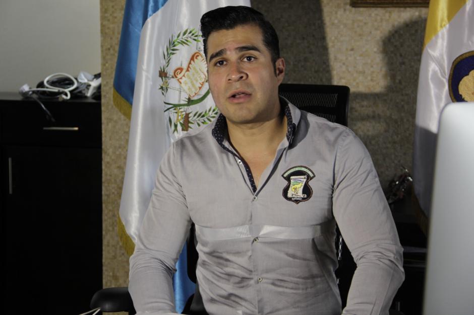 Neto Bran espera la asesoría legal para buscar la forma de despedir por la vía legal a los sindicalistas. (Foto: Fredy Hernández/Soy502)