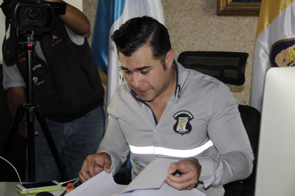 Bran resalta que una de las mayores deudas las heredó Otto Pérez Leal. (Foto: Fredy Hernández/Soy502)