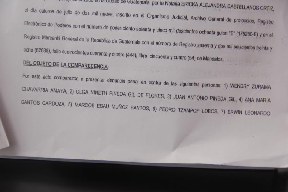 Varios de los denunciados no laboran para la Municipalidad de Mixco. (Foto: Fredy Hernández/Soy502)