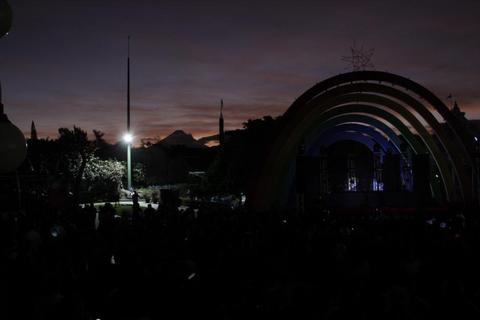 El parque recibió cerca de 11 mil visitantes el martes 22 de noviembre. (Foto: Fredy Hernández/Soy502)