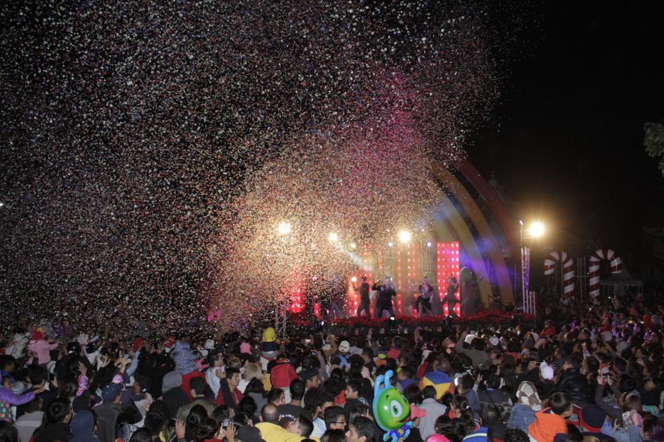 Varias actividades entretuvieron a los visitantes. (Foto: Fredy Hernández/Soy502)
