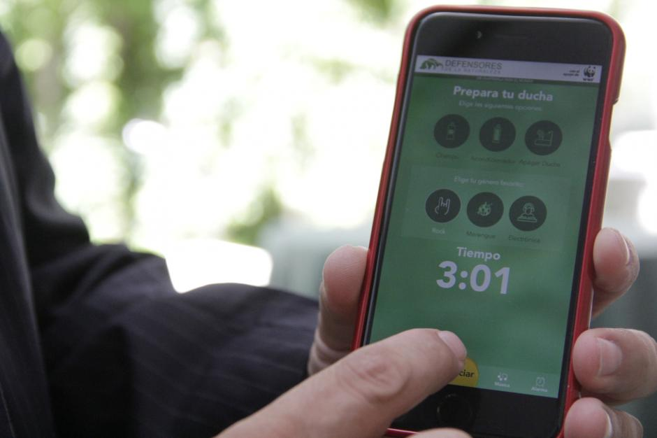 Los usuarios podrán crear su perfil para mantener un registro de sus duchas. (Foto: Fredy Hernández/Soy502)