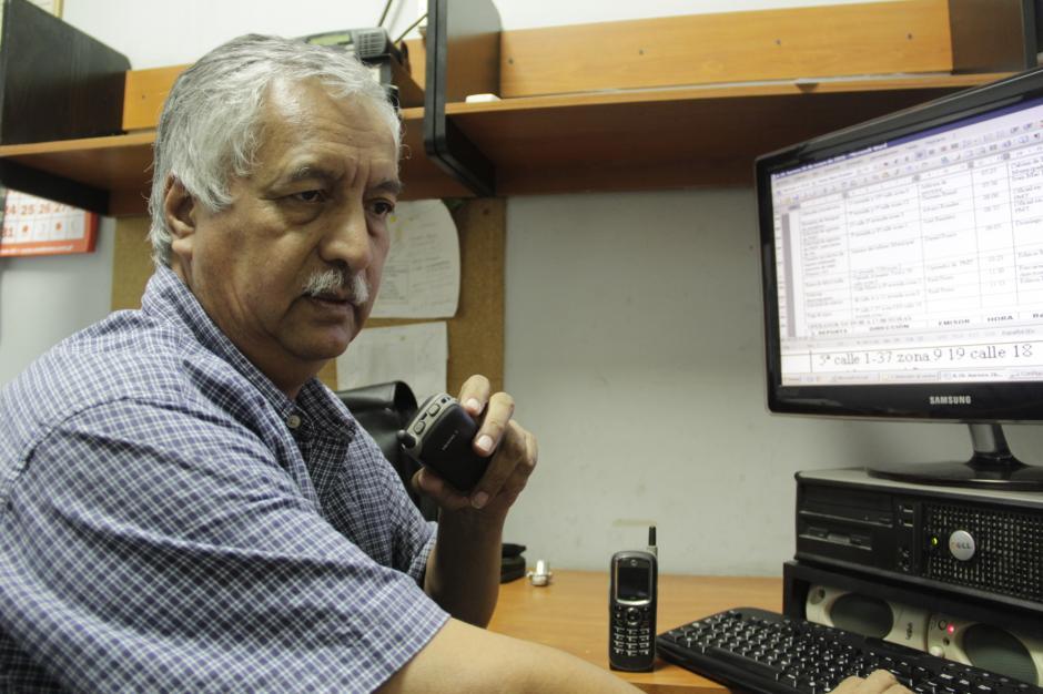 Sergio Mijangos expresa que ha tenido que apoyar en varias emergencias que han ocurrido en la capital en los últimos 30 años. (Foto: Fredy Hernández/Soy502)