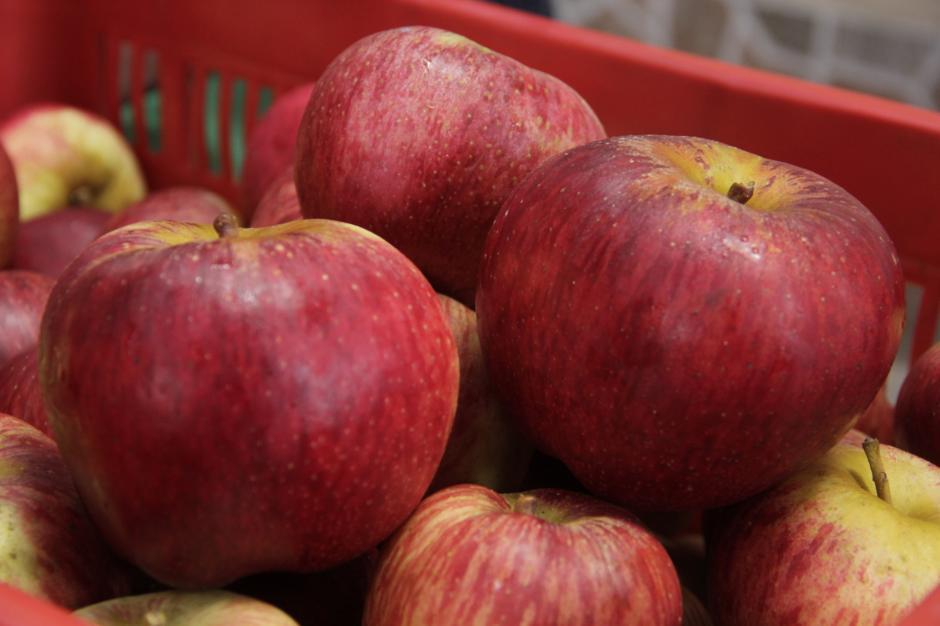 La manzana de Chichicastenango se vende en la mayor parte del país. (Foto: Fredy Hernández/Soy502)