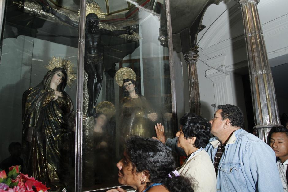 La mayor cantidad de peregrinos que llegan a venerar al Cristo Negro provienen de la Ciudad de Guatemala, Honduras, El Salvador y México.