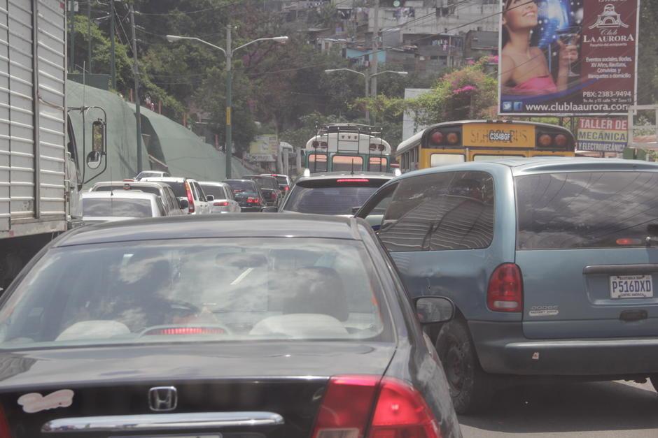 El tráfico es uno de los temas que más preocupa a los capitalinos en los últimos tiempos. (Foto: Archivo/Soy502)