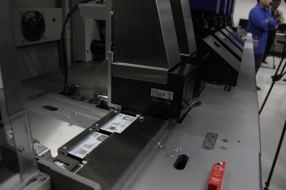 El proceso de impresión de DPI comenzará en las próximas horas. (Foto: Fredy Hernández/Soy502)