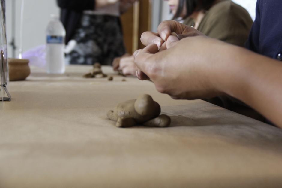 Los visitantes también podrán participar en talleres de cerámica. (Foto: Fredy Hernández/Soy502)