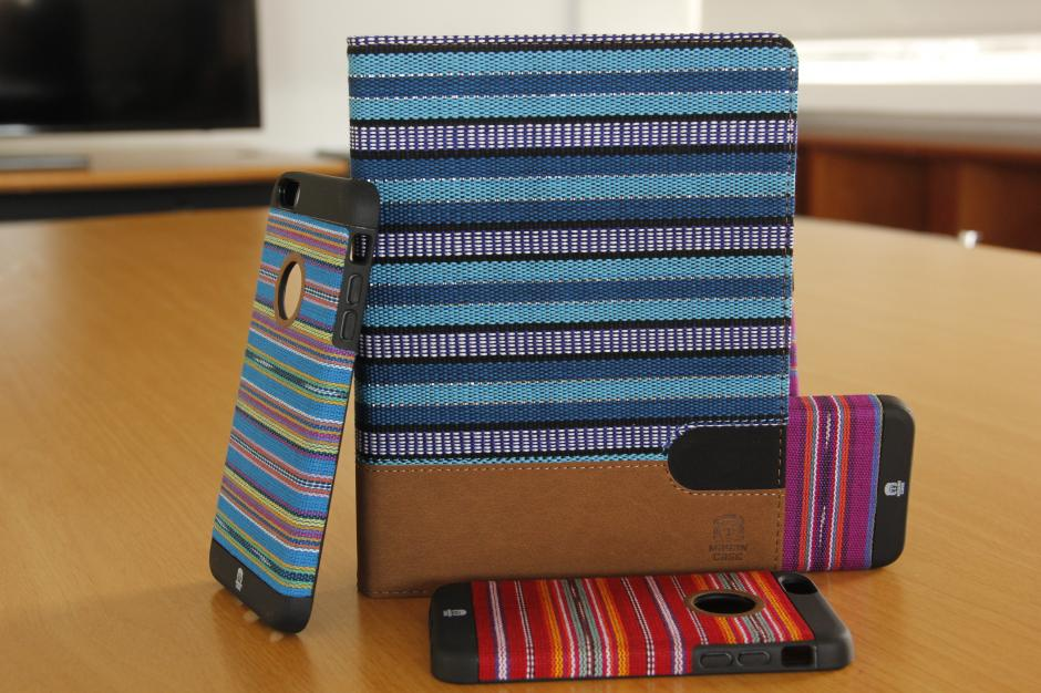 Los estuches de Mayan Case han trascendido fronteras y será uno de los productos que se expondrán en la Feria Internacional de Berlín en Septiembre. (Foto: Fredy Hernández/Soy502)
