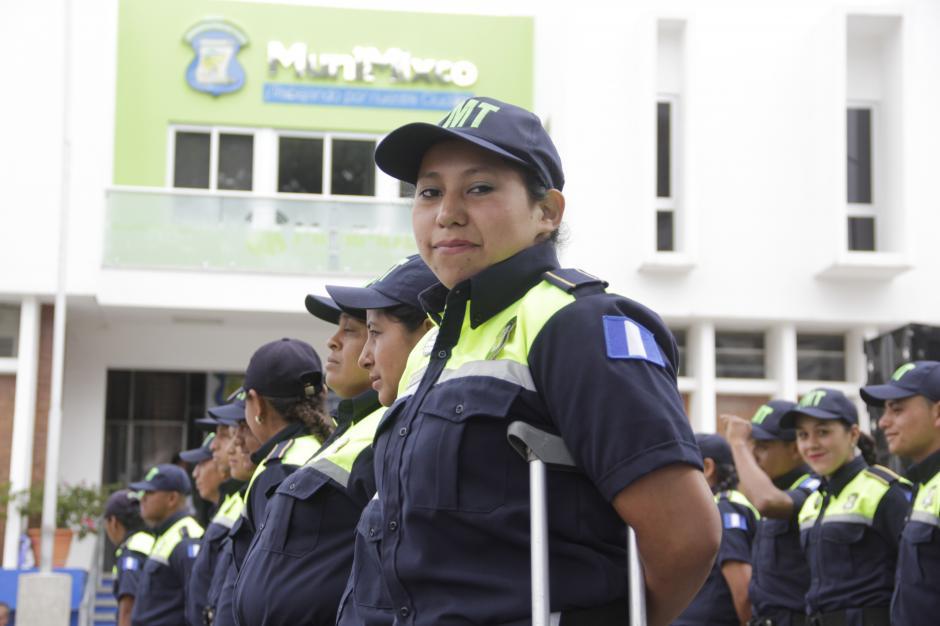 Ella desempeñará un cargo en el monitoreo de cámaras. (Foto: Fredy Hernández/Soy502)