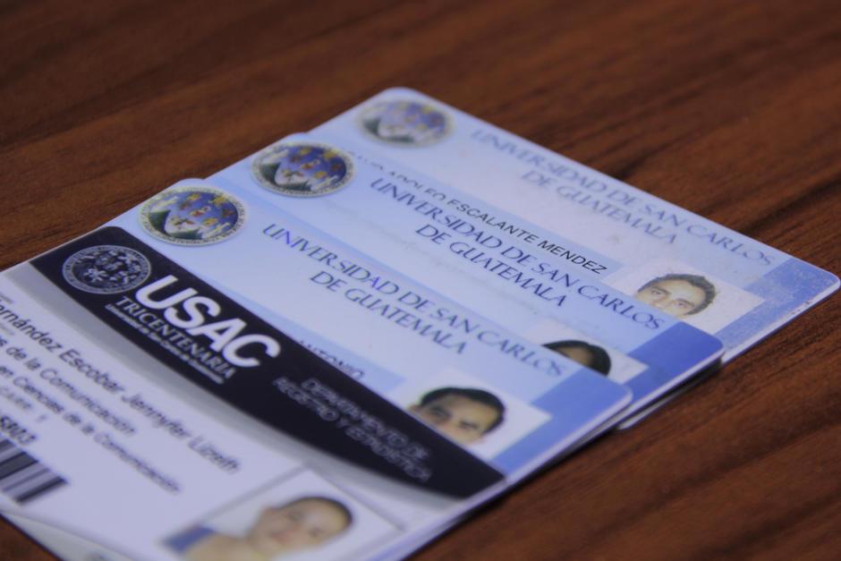 El número de carné de estudiante será suplantado por el Código Único de Identificación. (Foto: Fredy Hernández/Soy502)