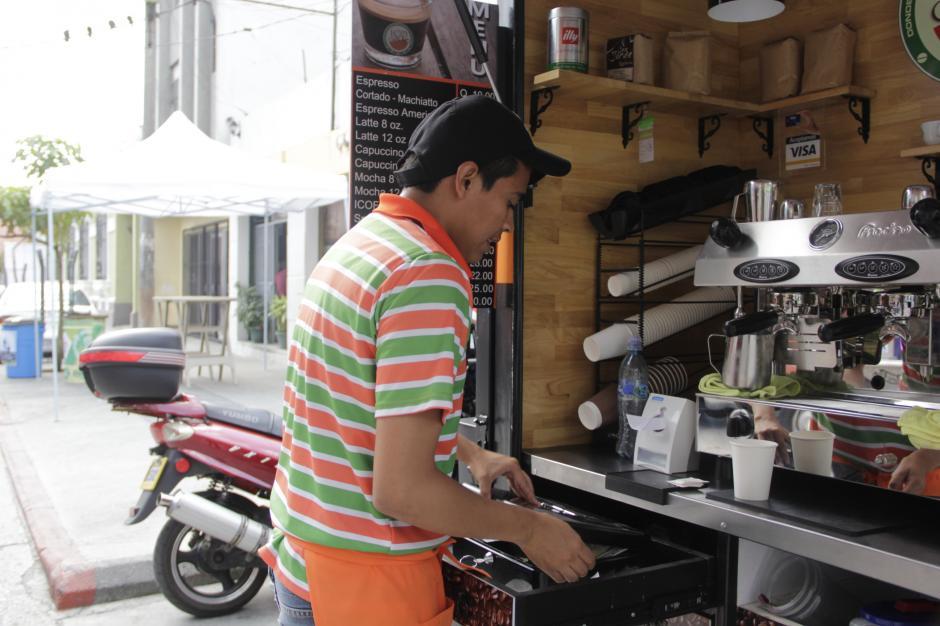 Después del almuerzo, está Ico Café para tomar un café antes de regresar a la oficina.(Foto: Fredy Hernández/Soy502)