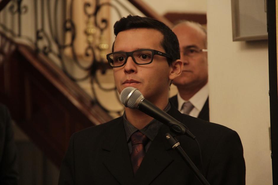 Pablo López estudiará en la Universidad Nacional de Yokohama. (Foto: Fredy Hernández/Soy502)