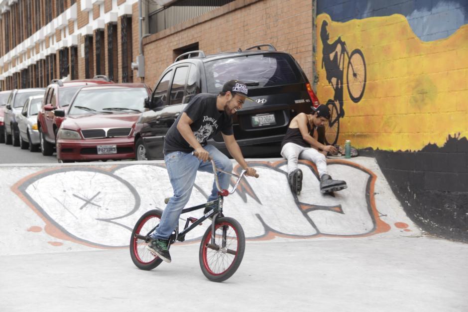 Los bordes del recinto son curvos para un mejor desenvolvimiento de las rutinas. (Foto: Fredy Hernández/Soy502)