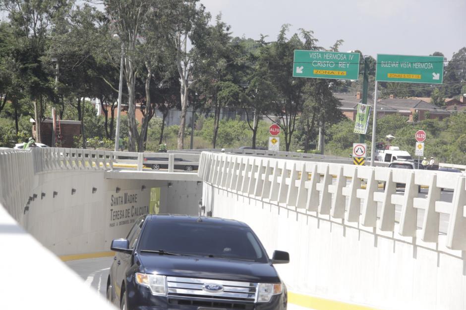 El departamento de obras tiene planificado hacer por lo menos cinco pasos a desnivel en 2017. (Foto: Fredy Hernández/Soy502)
