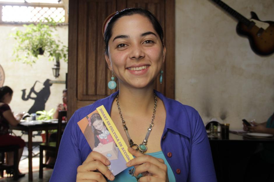 Crista Núñez expondrá en qué consiste Didart, el proyecto educativo y tecnológico que impulsa en los niños de Guatemala. (Foto: Fredy Hernández/Soy502)