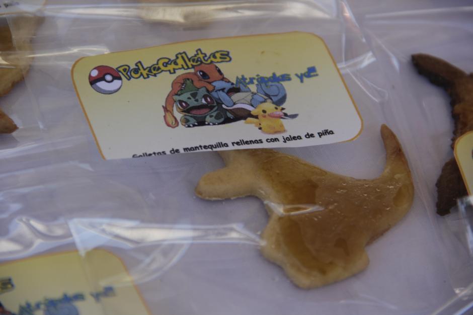 Las Pokegalletas fueron el éxito con los amantes de Pokémon Go. (Foto: Fredy Hernández/Soy502)