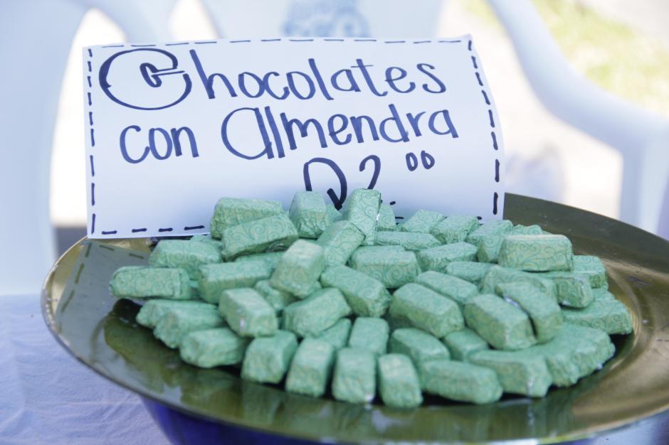 Los dulces a base de chocolate también fueron solicitados por su exquisito sabor. (Foto: Fredy Hernández/Soy502)