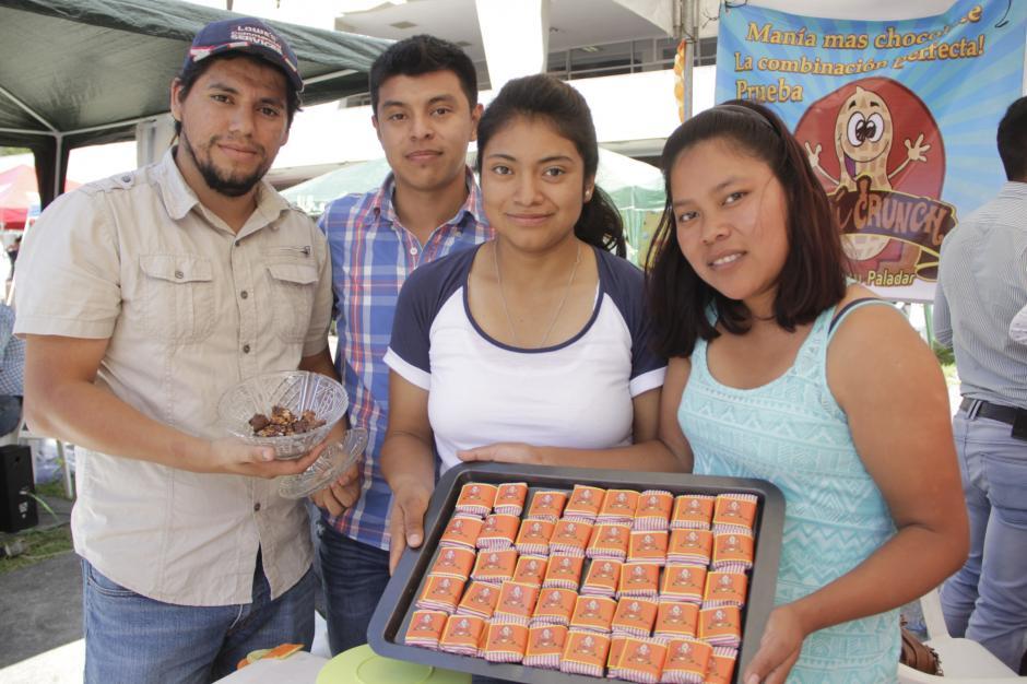 Los estudiantes esperan continuar con sus proyectos y establecer una empresa formal. (Foto: Fredy Hernández/Soy502)
