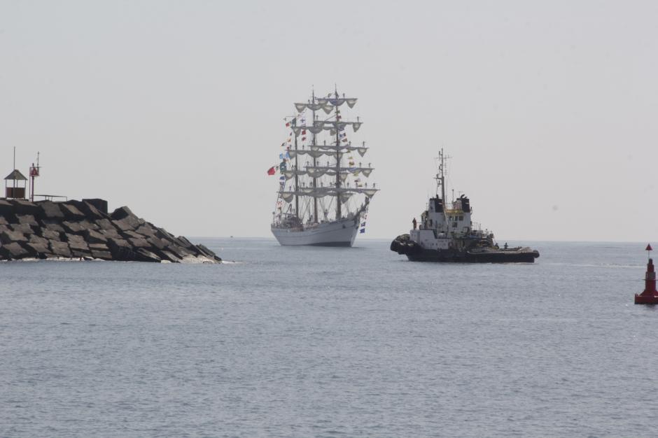 El barco viajó por siete meses a varios lugares del mundo.(Foto: Fredy Hernández/Soy502)