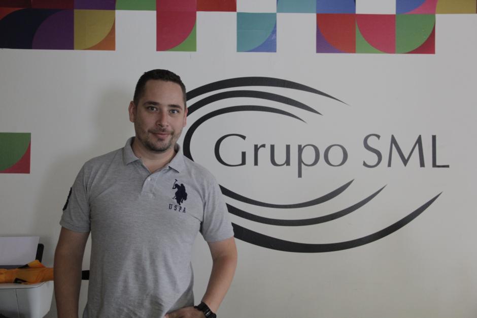 Sergio Heer también fue uno de los primeros emprendedores en instalarse en el Campus Tec. (Foto: Fredy Hernández/Soy502)