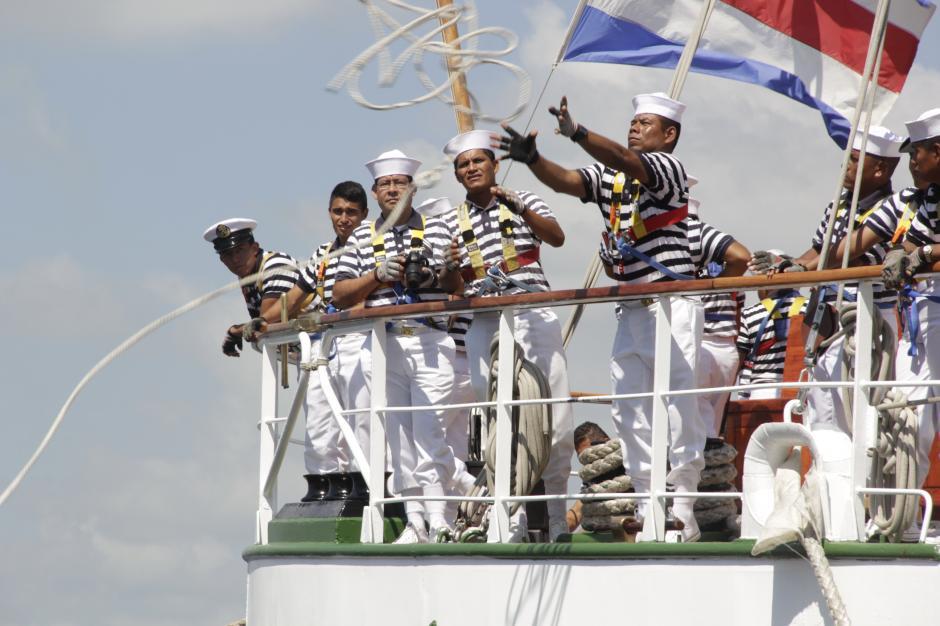 La mayoría de los navegantes son estudiantes de Marina que están en el penúltimo año de la carrera naval.(Foto: Fredy Hernández/Soy502)