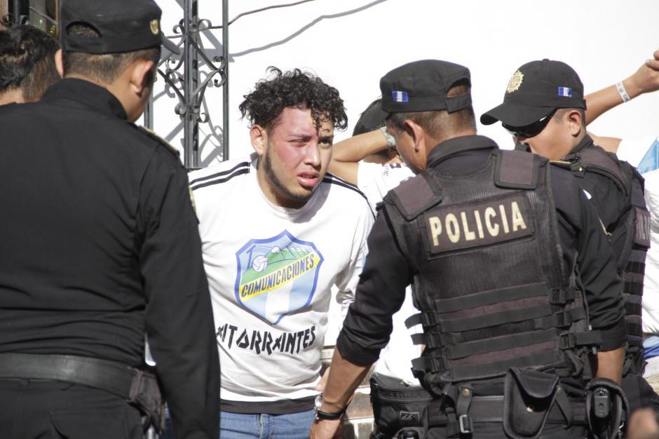 El directivo señaló a los aficionados y a las fuerzas de seguridad de los incidentes. (Foto: Fredy Hernández/Soy502)