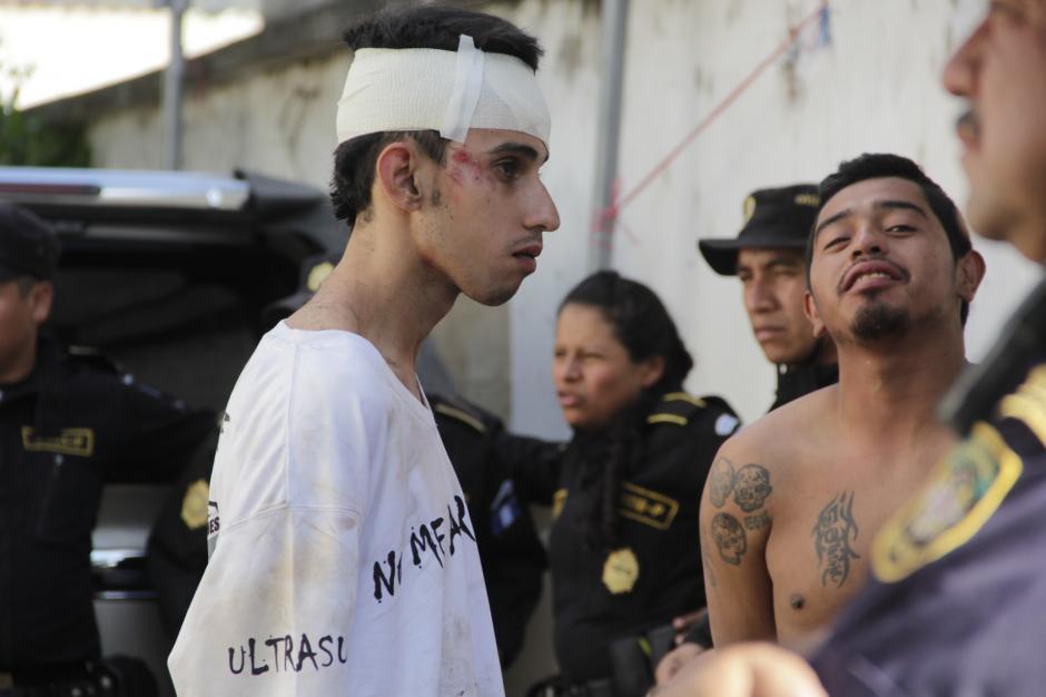 Varios seguidores cremas fueron detenidos en Antigua. (Foto: Fredy Hernández/Soy502)